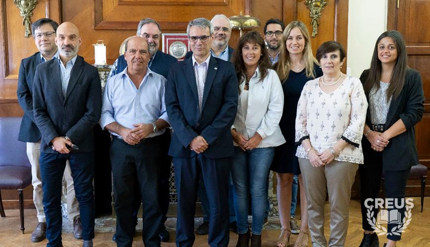 Moccero se reunió con el Rector de la Universidad del Sur para avanzar en la puesta en marcha de la facultad presencial en Coronel Suárez