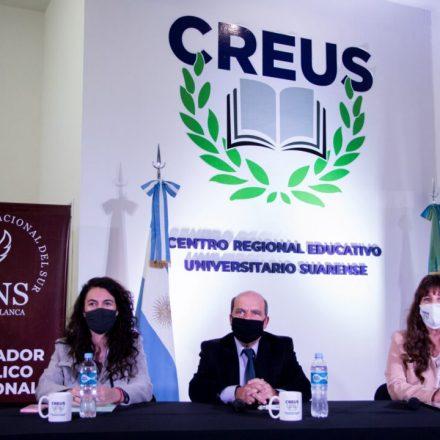 Un Día Histórico para Coronel Suárez: El Centro Regional Educativo Universitario Suarense comenzó con la cursada de la Carrera de Contador Público a través de la Universidad Nacional Del Sur