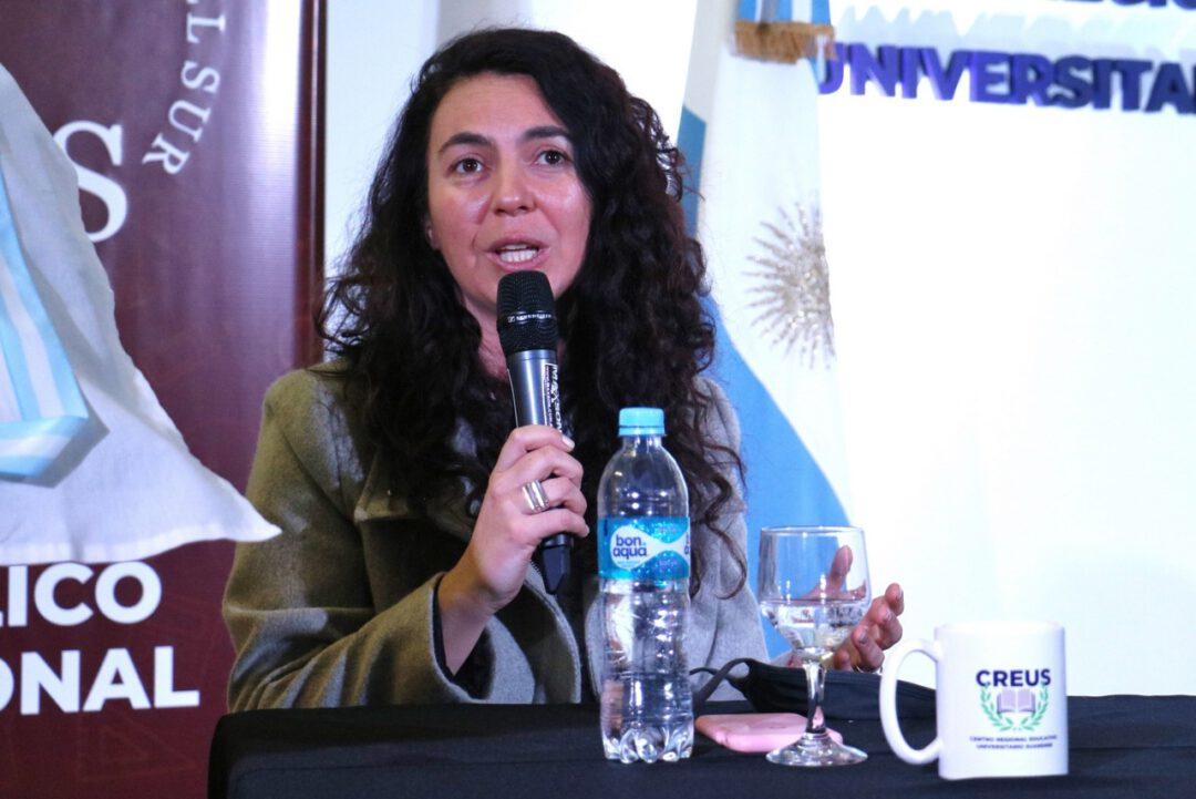 """Marisol Merquel Diputada Provincial: """"Cuando los sueños son colectivos, cuando hay corazón, gestión y decisión de los gobernantes, se logra poner en marcha Creus, la primer facultad en Coronel Suárez"""""""