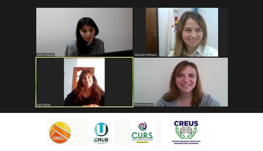 Autoridades de CREUS participaron de un encuentro de Centros Regionales Universitarios de la provincia de Buenos Aires